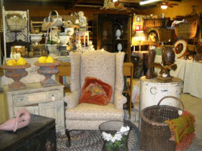 Boerne Optimist Antique Show in Boerne TX.